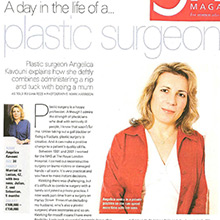 A day in the life of a plastic surgeon, Angelica Kavouni